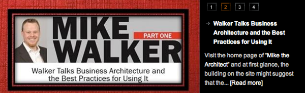 Mike Walker Architecture and Governance Magazine